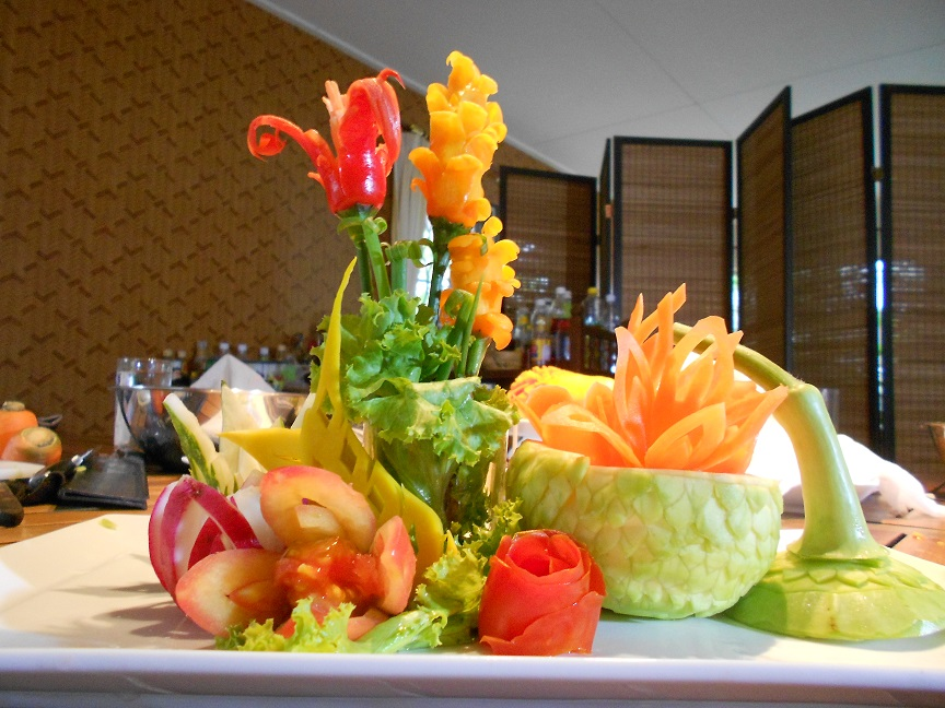 vegetable fruit carving