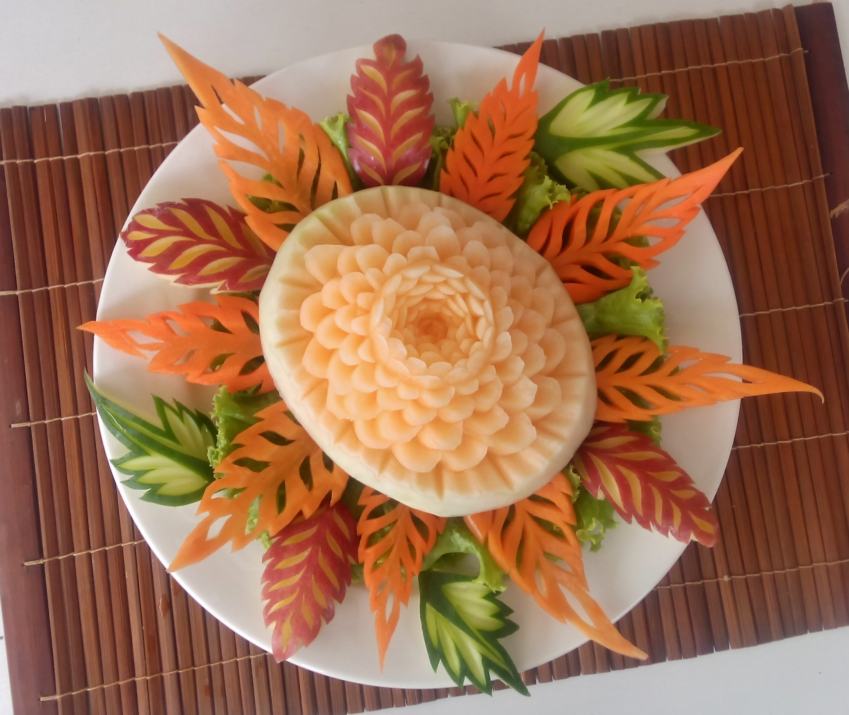 fruit carving classes