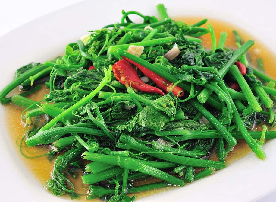 Stir Fried Morning Glories