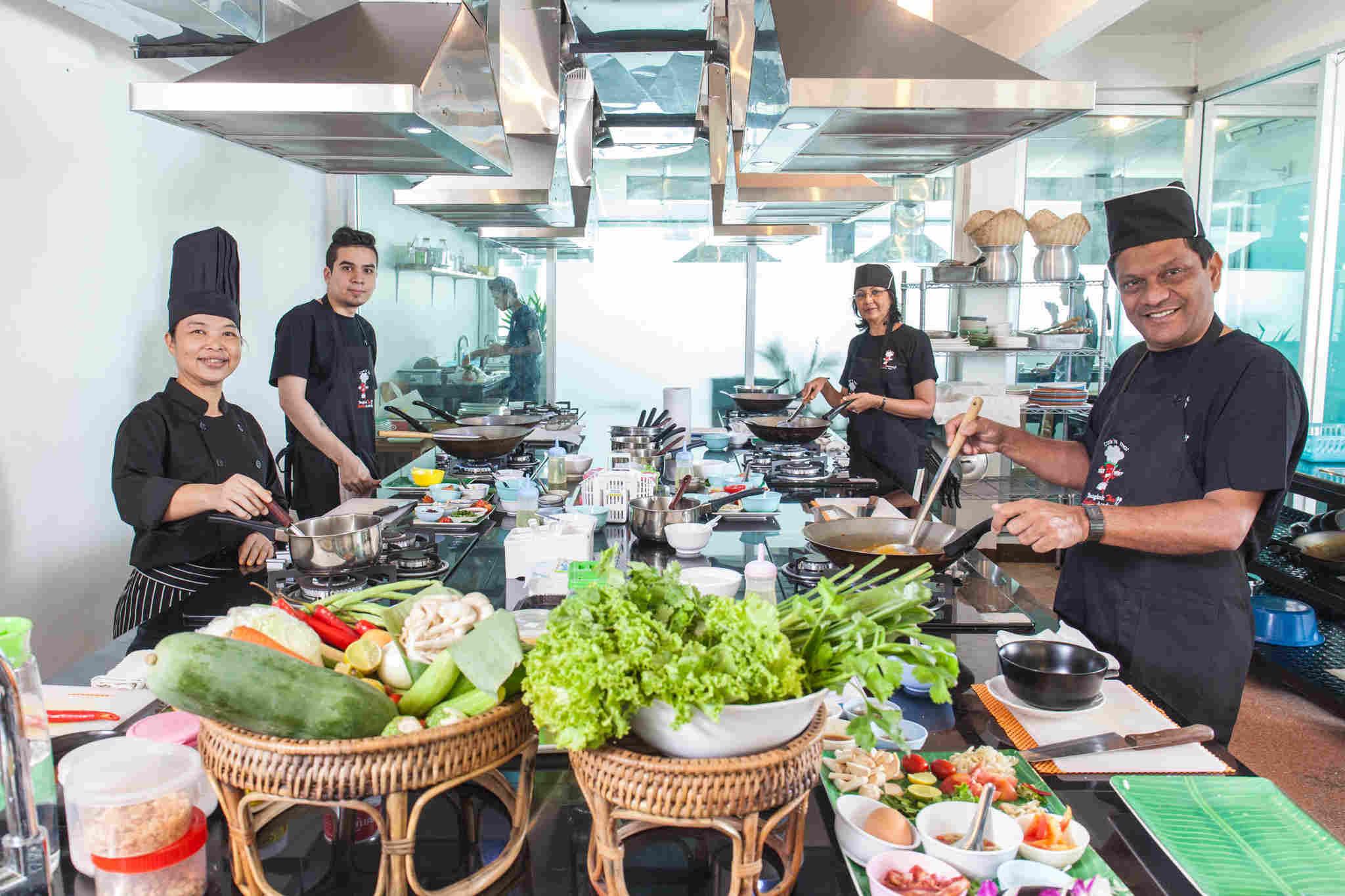 Professional Chef Course Bangkok Thai Cooking Academy