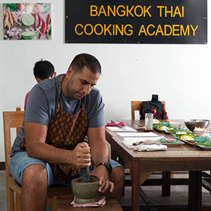 Thai cooking classes Bangkok
