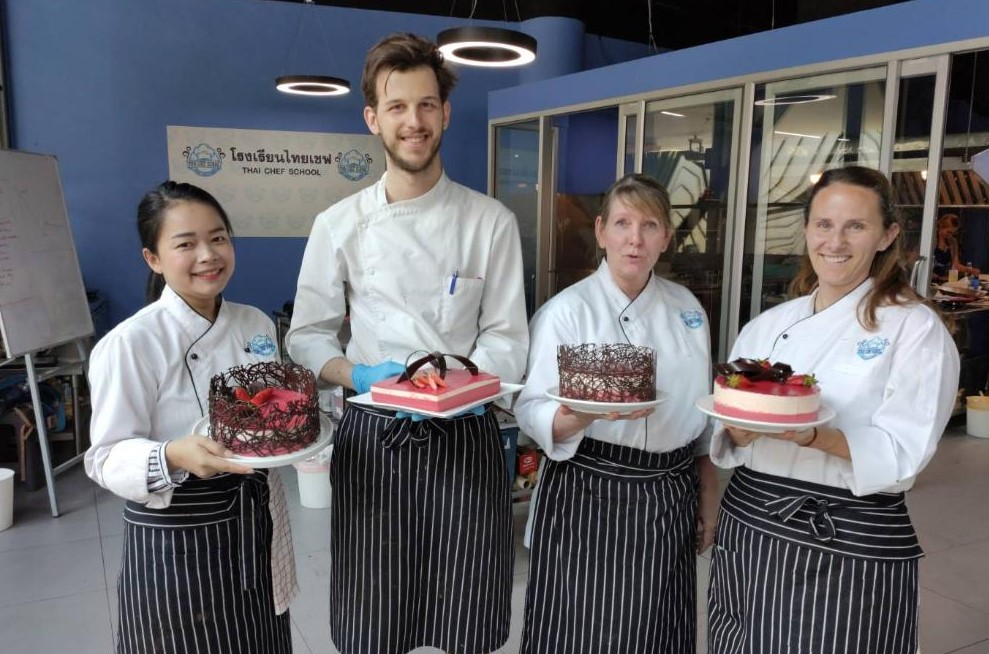 Chef Dao Chocolate Decorations Bangkok Thai Cooking Academy